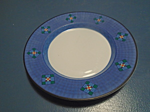 Dansk Nine Patch Bread And Butter Plates Portugal