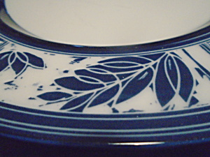 Dansk Ceylon Royal Blue Dinner Plates Japan