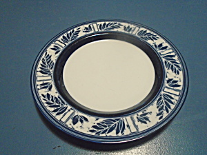 Dansk Ceylon Royal Blue Salad Plates Japan