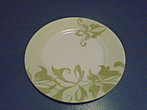 Corelle Cheverry Ultra Vitrelle 2 Green Leaf Dinner Plates