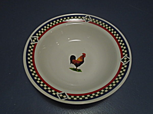 International Ella's Rooster Round Serving Bowls