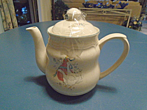 International Marmalade Coffee Pot And Lid Vintage