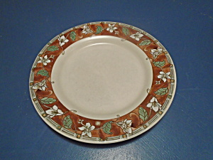 Pfaltzgraff Mission Flower Dinner Plates