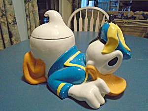 Walt Disney Donald Duck Cookie Jar Needs Your Love And Care