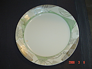 Corelle Textured Leaves Lunch Plates Hard To Find Size
