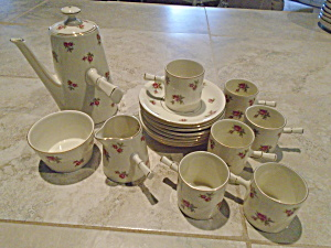 Victoria Czechoslovakia Tea Set Beautiful And Mint Vintage