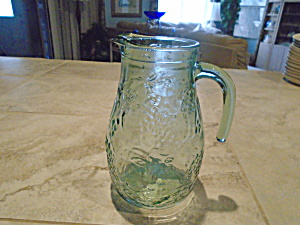 Libbey Orchard Green Pitcher 64 Oz.