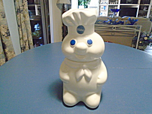 Pillsbury Doughboy Ceramic Cookie Jar
