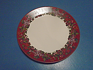 Raymond Waites Cornucopia Line Red Fruit Dinner Plates