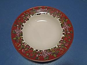 Sakura Le Menagerie Rimmed Soup Bowls