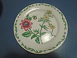 International Terrace Blossom Salad Plates
