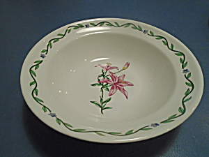 International Terrace Blossoms Serving Bowls