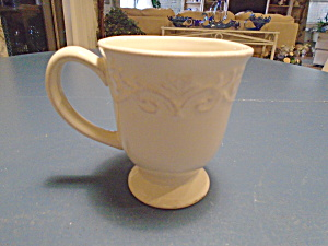 Chris Madden Covella Ivory Mugs