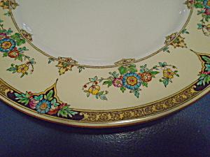 Antique Vintage Minton Eloise Lunch Plates Dated Aug. 3, 1926 (Image1)