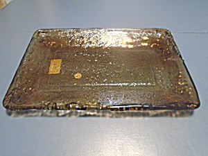 Recycled Glass Tray Made In Spain