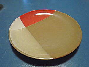 Sango Gold Dust Red Dinner Plates