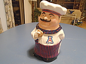 Chef Cookie Jar from Memory Company 1st. in Series (Image1)
