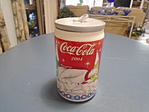 Coke Coca-colar Soda Can Cookie Jar