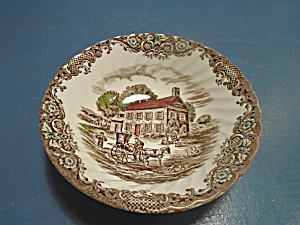 Staffordshire Heritage Hall Serving Bowl