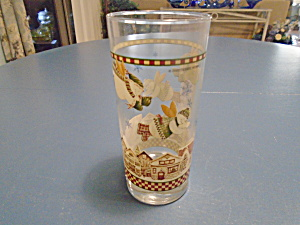 Sakura Debbie Mumm Flying Angel Iced Tea Glass