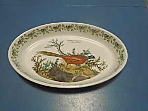 Portmeirion Pheasant Oval Baker 14.5 In. Mint Like New