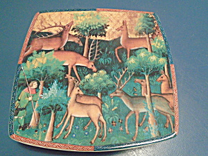 Caccia Made In Italy Italian Ceramics Company Square Plate #3