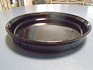Corning Ware Black Quiche Pan 10.5 In.