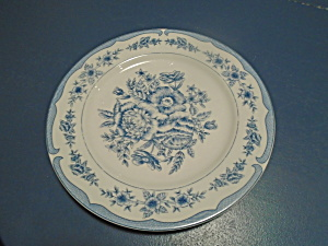 American Atelier Floral Toile Dinner Plates