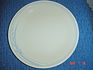 Corelle Blue Lily Lilies Lunch Plates