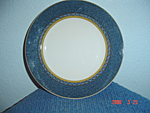 Mikasa Florentine Blue Dinner Plates & Mikasa - Antique China Antique Dinnerware Vintage China Vintage ...