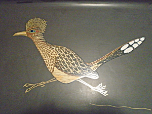 Couroc Roadrunner Large Serving Tray