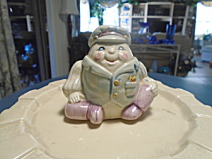 Humpty Dumpty Ceramic Cookie Jar