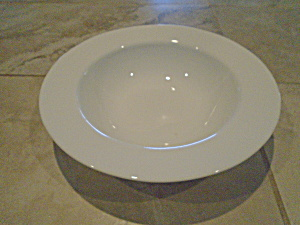 Corelle Dazzling White/White Frost Rimmed Pasta Bowls (Image1)