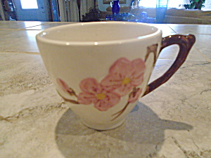 Metlox Peach Blossoms Set Of 2 Cups