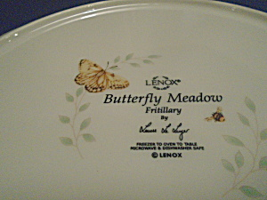 Lenox Butterfly Meadow Fritillary Dinner Plate