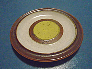Denby Potter's Wheel Gold Bread And Butter Plates