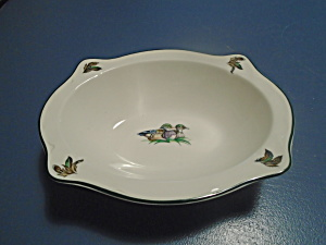 Johnson Bros Brookshire Oval Serving Bowl (Birds)