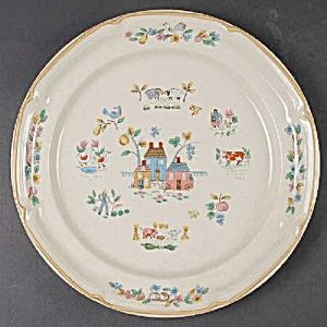 International China Co. Heartland Dinner Plates (Image1)