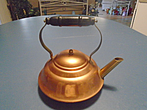 Coppercraft Guild Small Copper Tea Kettle Made In Massachusetts