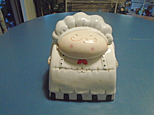 Fat Little Chef Canister Or Small Cookie Jar