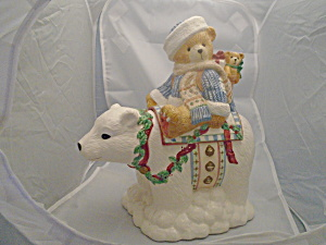 Cherished Teddies Bear Cookie Jar Special Cuteness