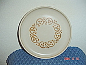 Denby Rams Head English Brown Bread And Butter Plates