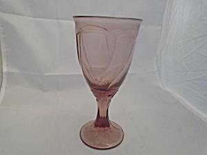 Noritake Sweet Swirl Cranberry Wine Goblet (Image1)