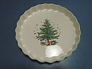 Nikko Happy Holidays Quiche Pan/dish