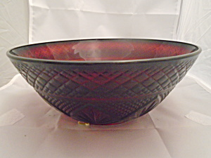 Luminarc France Cris D'arques/durand Arty-red Serving Bowl