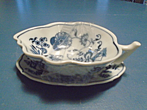 Blue Danube Lipper And Mann Leaf Dish And Small Tray