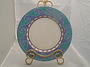 Dansk Mosaic Waves Salad Plates