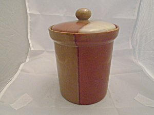 Sango Gold Dust Sienna Canister Sugar Size