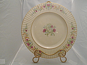 Lenox Cinderella Dinner Plate(S) Old Pattern Gold Trim Vintage Mint