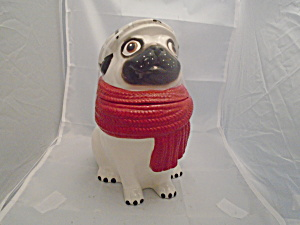 World Market Bulldog Ceramic Cookie Jar